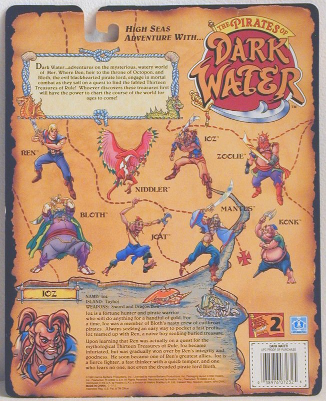 PIRATES OF THE DARK WATER  (Hasbro)  1991 Darkwa10