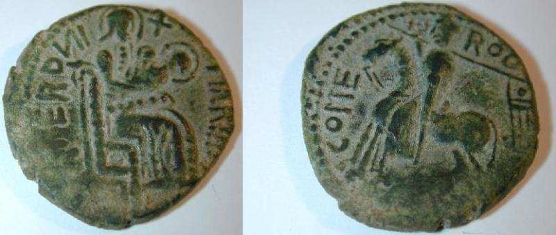 Bizantina - Normandos en Sicilia, Trifollaro de Roger I (Mileto, 1072-1101) Foti931