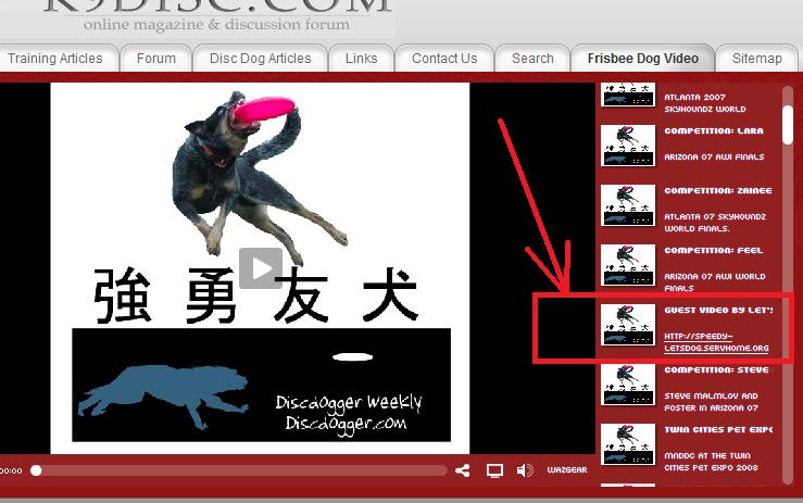 Ca y est, ma vidéo sur un site américain S10