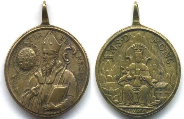 recopilación de medallas de San Benito 24ij10