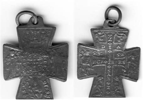 recopilación de medallas de San Benito 54083r11