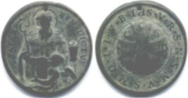 recopilación de medallas de San Benito B10