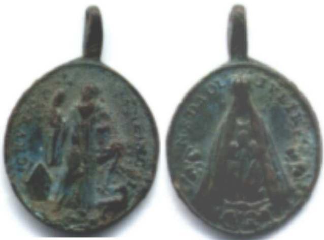 recopilación de medallas de San Benito Oli10