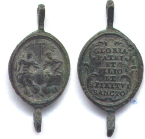 Medalla de Rosario (S. XVIII) Trinit10