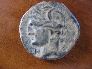 Medio calco sardinio-púnico (Cerdeña) Carta10