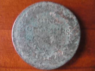 Francia, 5 centimes, 1895/8. Cinco_10