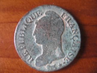 Francia, 5 centimes, 1895/8. Republ10
