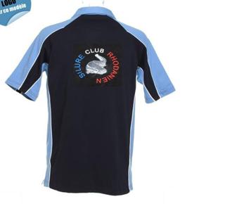 """2012 = Commande """"CLUB"""" N°3 : chemises et polos sérigraphiés Phili139"""