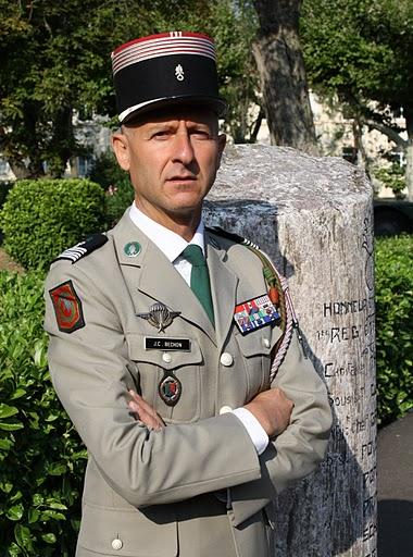 Colonel BECHON nouveau chef de Corps Bild0010