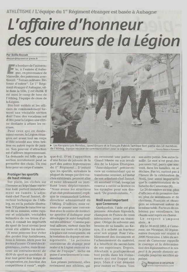 Equipe D'athletisme De la L. E. Legion11