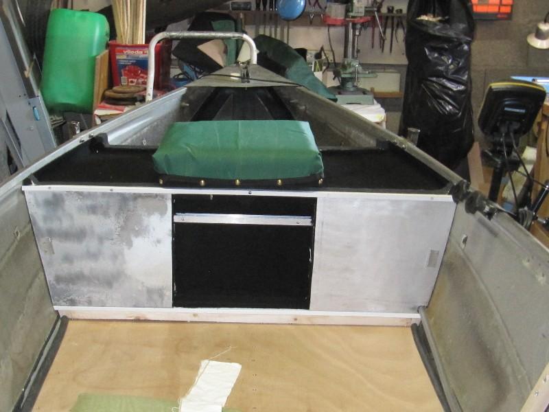 Rénovation, d'une EX barque pliante  Ranov114