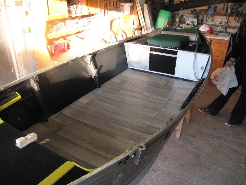 Rénovation, d'une EX barque pliante  Ranov134