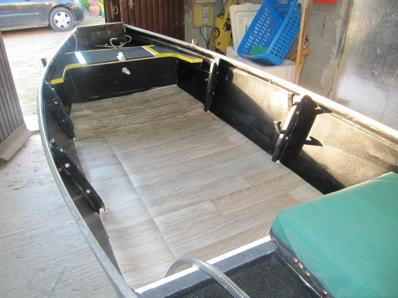 Rénovation, d'une EX barque pliante  Ranov135