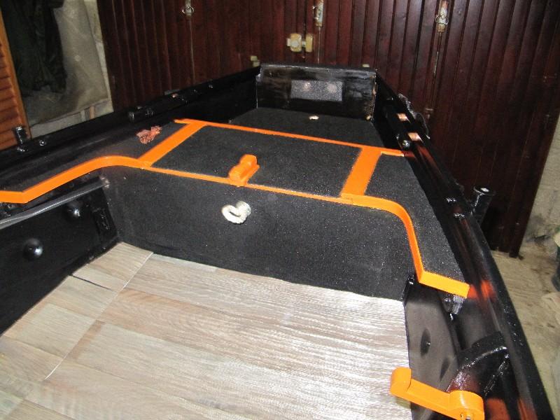 Rénovation, d'une EX barque pliante  Ranov136