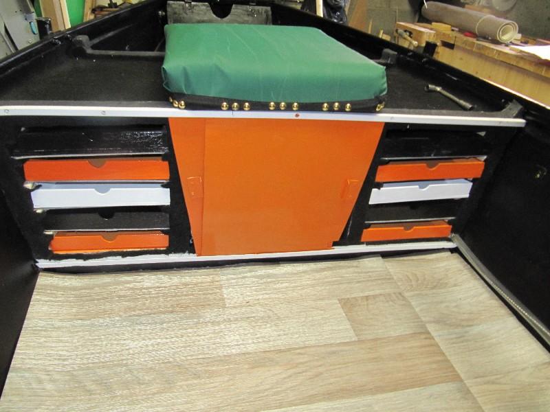Rénovation, d'une EX barque pliante  Ranov140