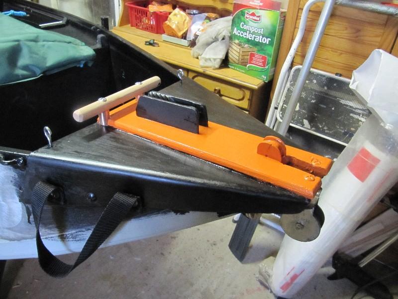 Rénovation, d'une EX barque pliante  Ranov142