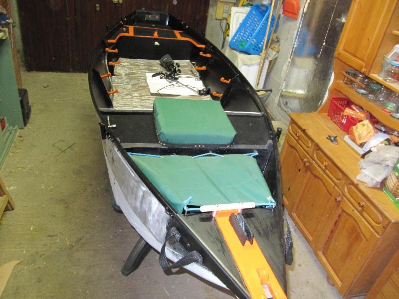 Rénovation, d'une EX barque pliante  Ranov143