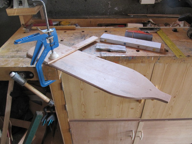 Rénovation, d'une EX barque pliante  Ranov144