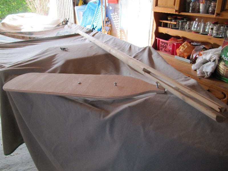Rénovation, d'une EX barque pliante  Ranov145
