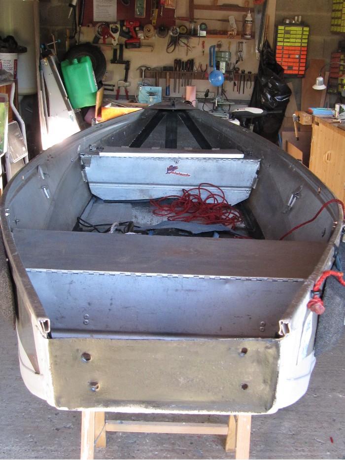 Rénovation, d'une EX barque pliante  Ranova78