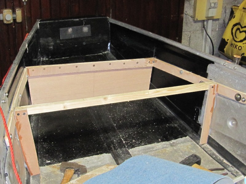 Rénovation, d'une EX barque pliante  Ranova91