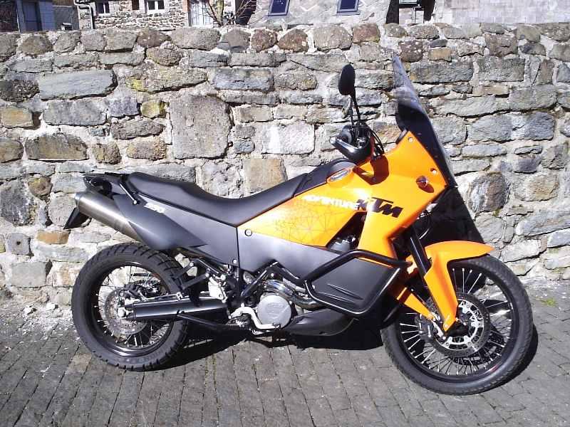 [ Vendu ] KTM Adventure 990 ABS orange 2010 Droit10