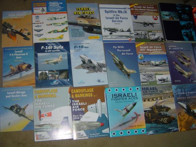 BIBLIO ISRAEL AIR FORCE / ISRAEL AIR FORCE BOOK LIBRARY Dsc09117