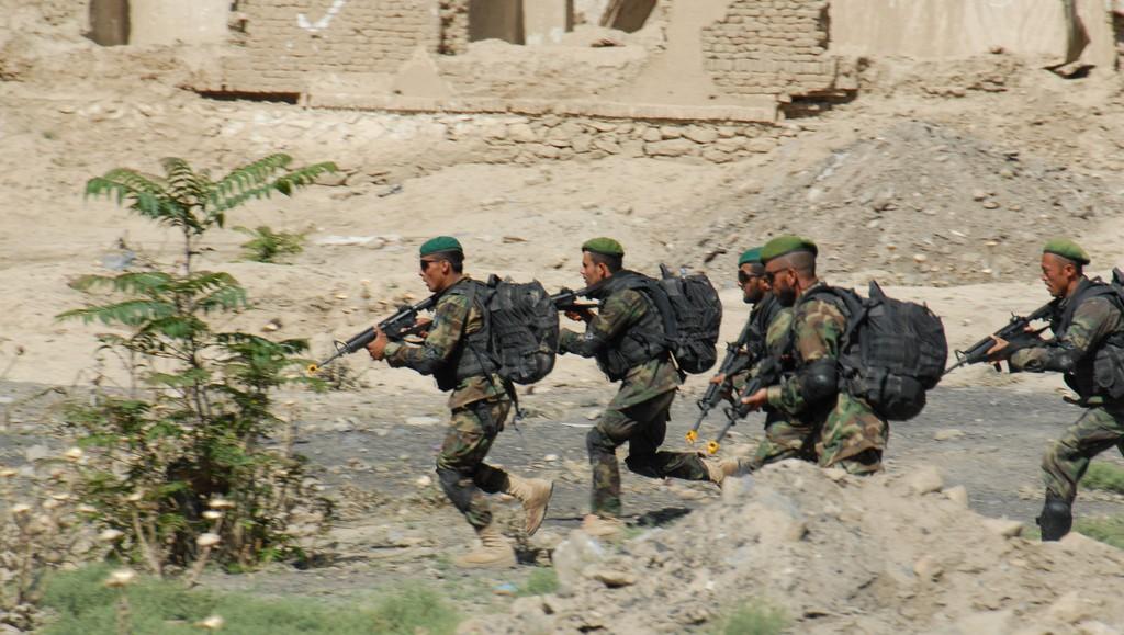Armée Afghane/Afghan National Army(ANA) 123