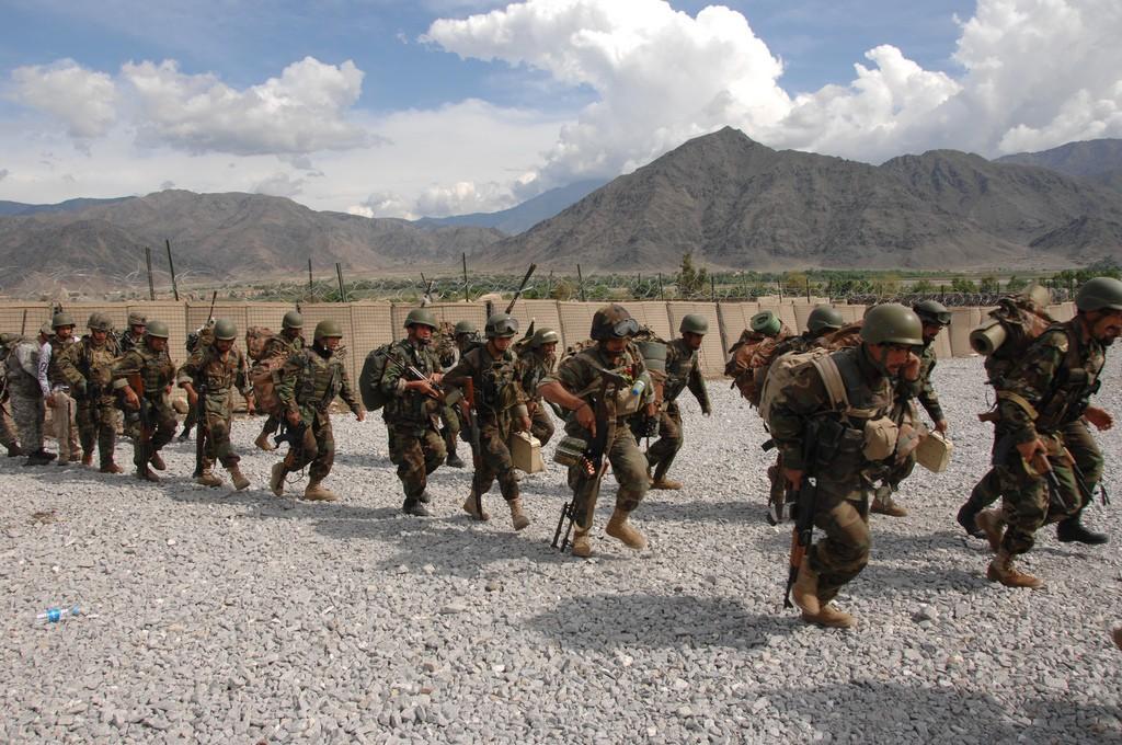 Armée Afghane/Afghan National Army(ANA) 222