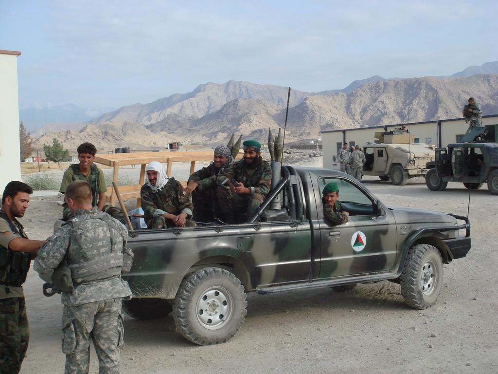 Armée Afghane/Afghan National Army(ANA) 910