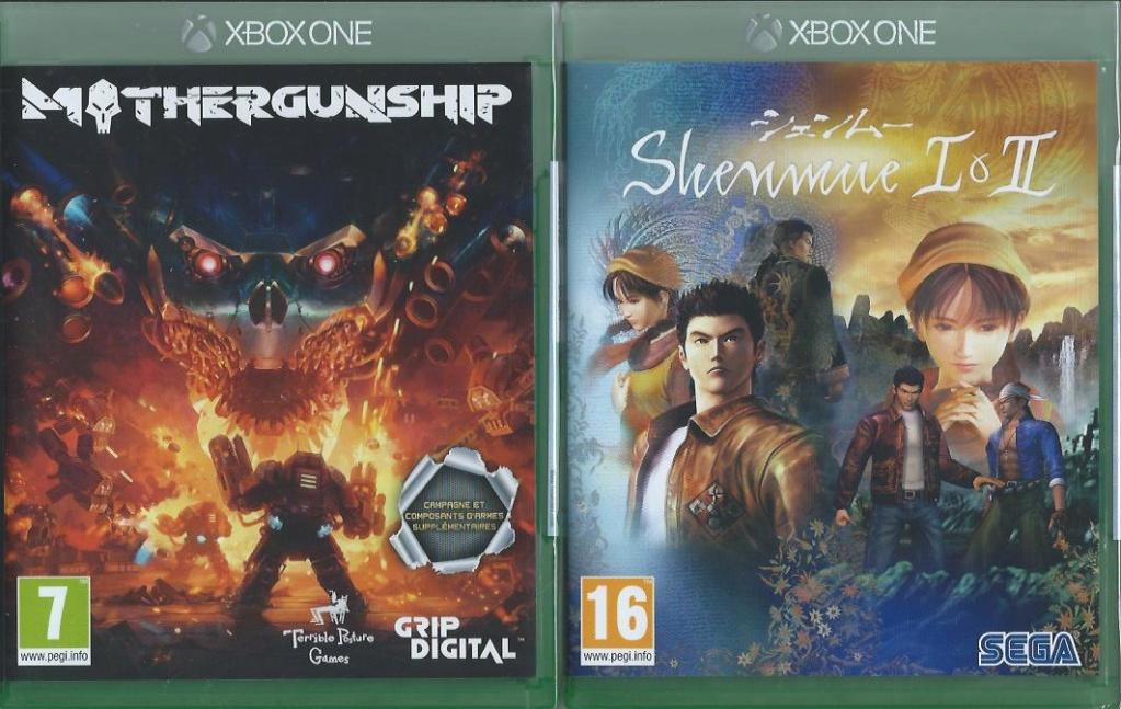 les jeux xbox one (x) de borntobequeen !!! Shemu110