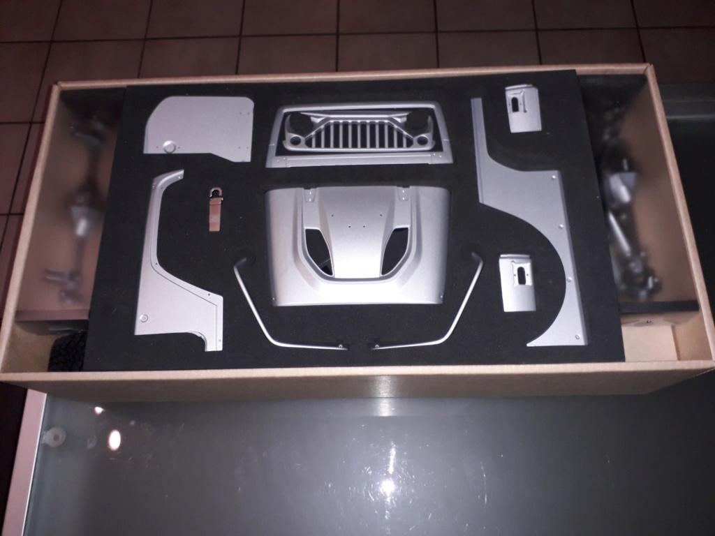 Je commence le montage de mon kit - Capo Racing France - Jeep JK MAX CD15827 20190511