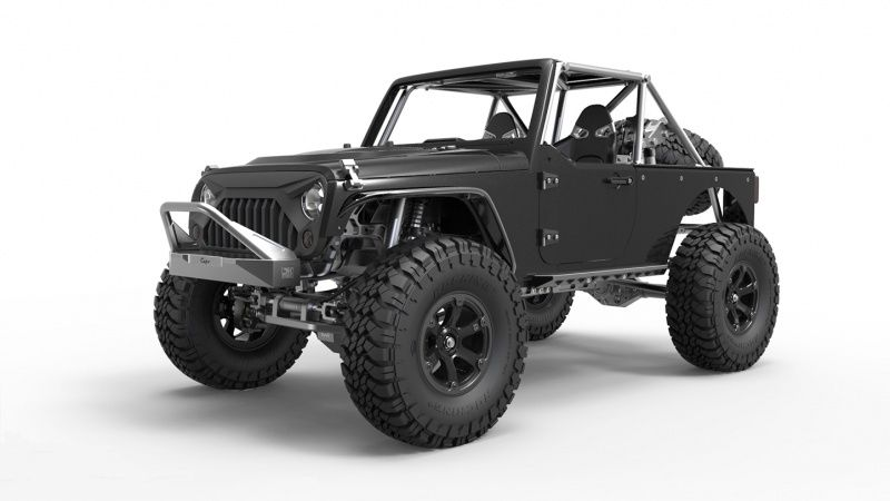 Je commence le montage de mon kit - Capo Racing France - Jeep JK MAX CD15827 Capo-r10