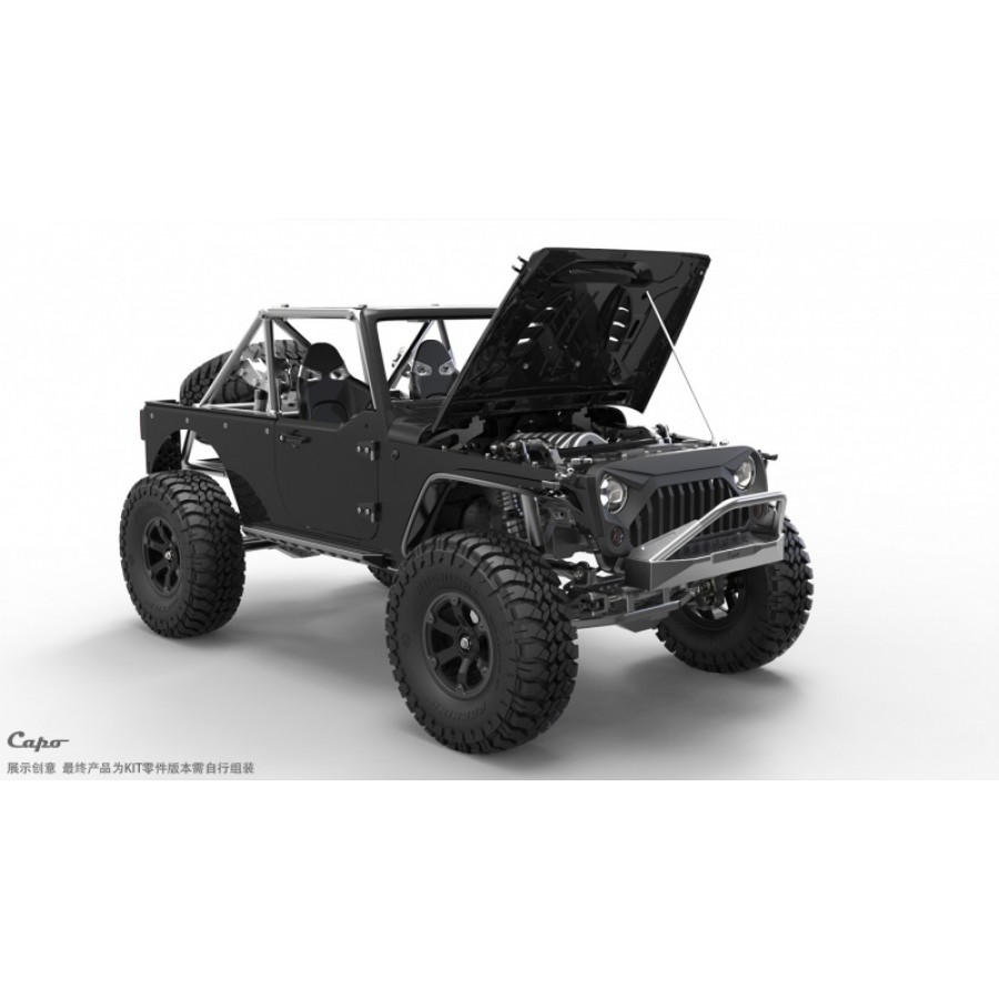Je commence le montage de mon kit - Capo Racing France - Jeep JK MAX CD15827 Jkmax110
