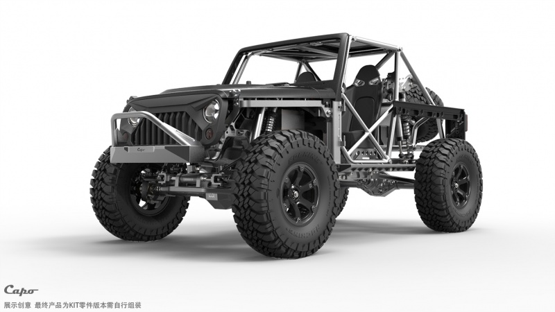 Je commence le montage de mon kit - Capo Racing France - Jeep JK MAX CD15827 Tb2_4c10