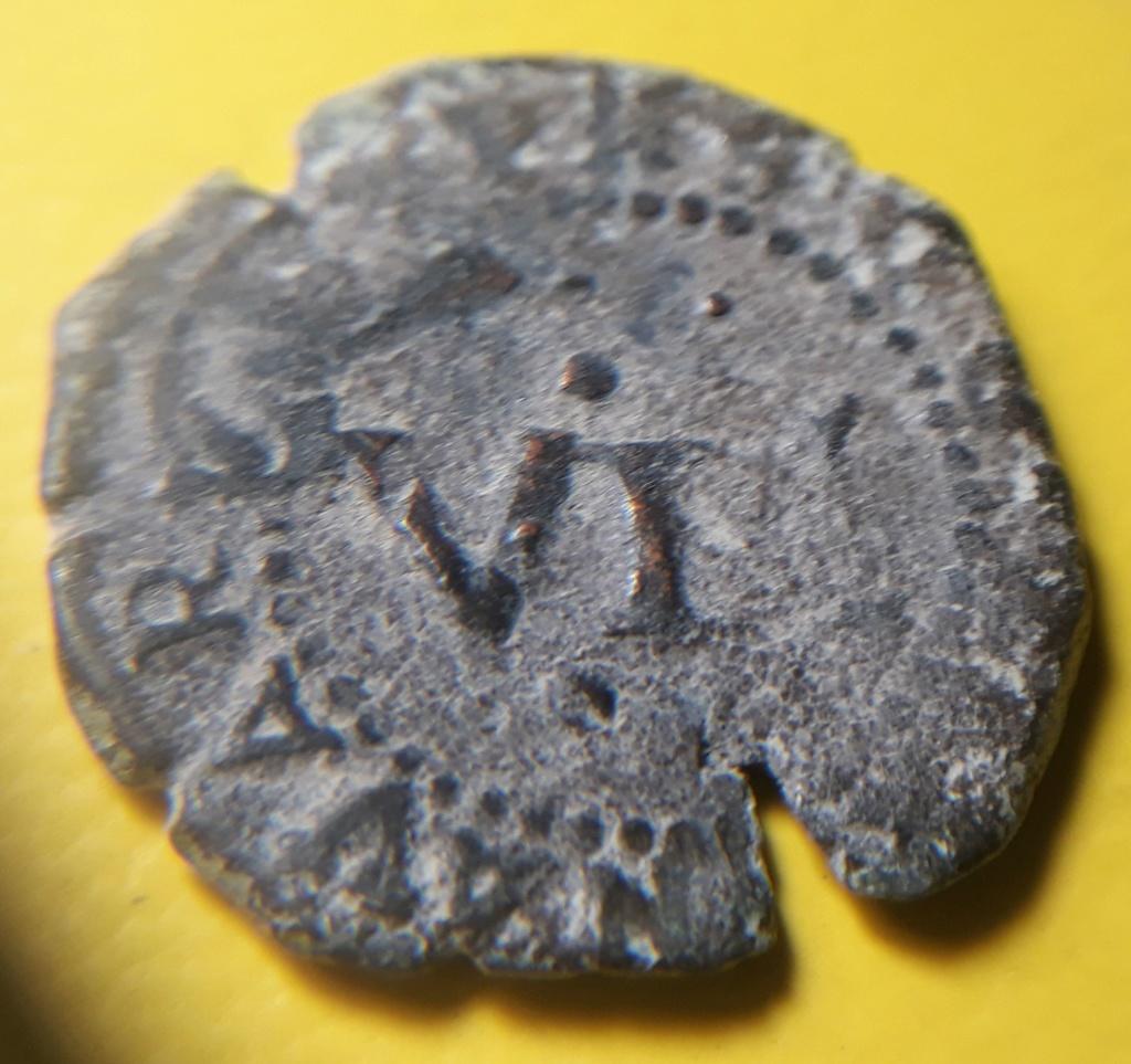 4 cornados navarros de Felipe III, 1617, resellados a VI, Toledo, 1636 20200312