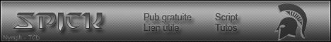 Spick v.2 : forum de pub Spick10