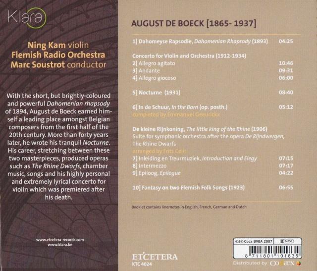 August De Boeck (1865-1937) Back36