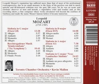 Leopold Mozart (1719-1787) Back39