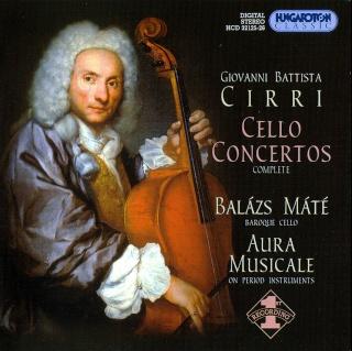 Giovanni Battista Cirri (1724-1808) Cover10