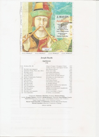 Applausus Hob XXIVa.6 Haydna10