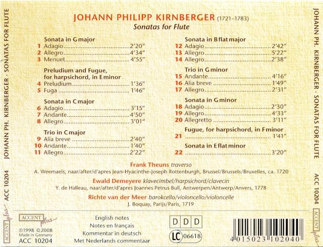 Johann Philipp Kirnberger (1721-1783) Kirnbe11