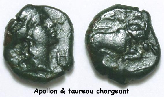 Petits bronzes au taureau chargeant et au taureau passant [WM n° 8412 et WM n° 8413] 03_apo17