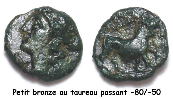 Petits bronzes au taureau chargeant et au taureau passant [WM n° 8412 et WM n° 8413] 03_bro11