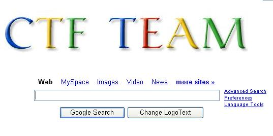 Home page &  search Here (CTF TEAM) Goog10