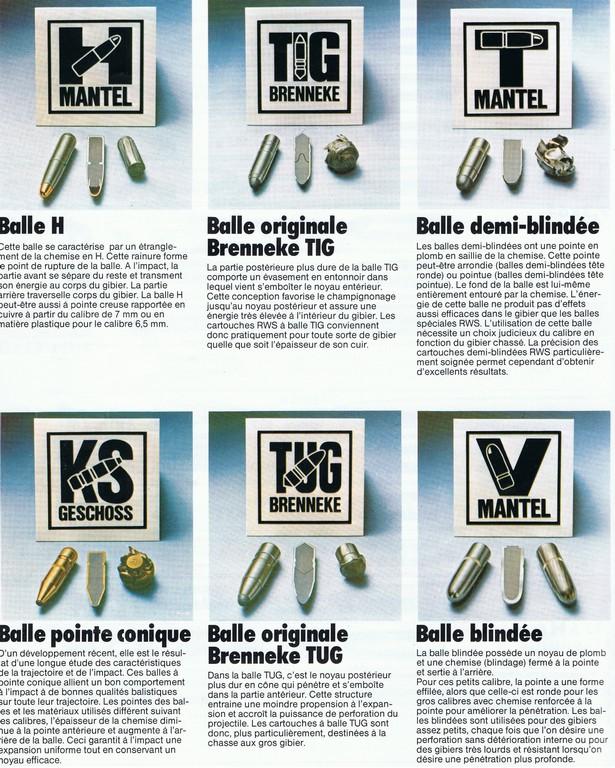 """Les munitions: """"Du nouveaux chez les pruneaux""""  Balel10"""