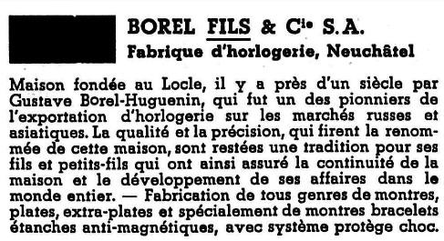 Borel fils and Co. vintage à restaurer de belle facture. infos sur la marque ? Borel_11