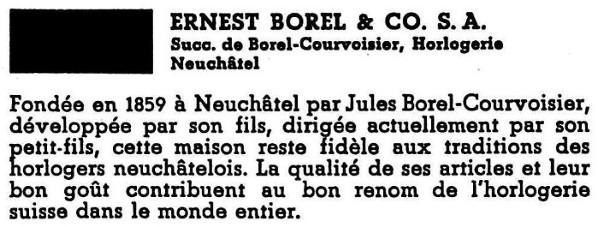 Borel fils and Co. vintage à restaurer de belle facture. infos sur la marque ? Borel_13