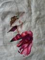 """Galerie """"les belles de bonheur point de croix 2012 0024110"""