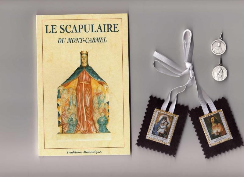 Scapulaire de Notre Dame du Mont Carmel Scapul10
